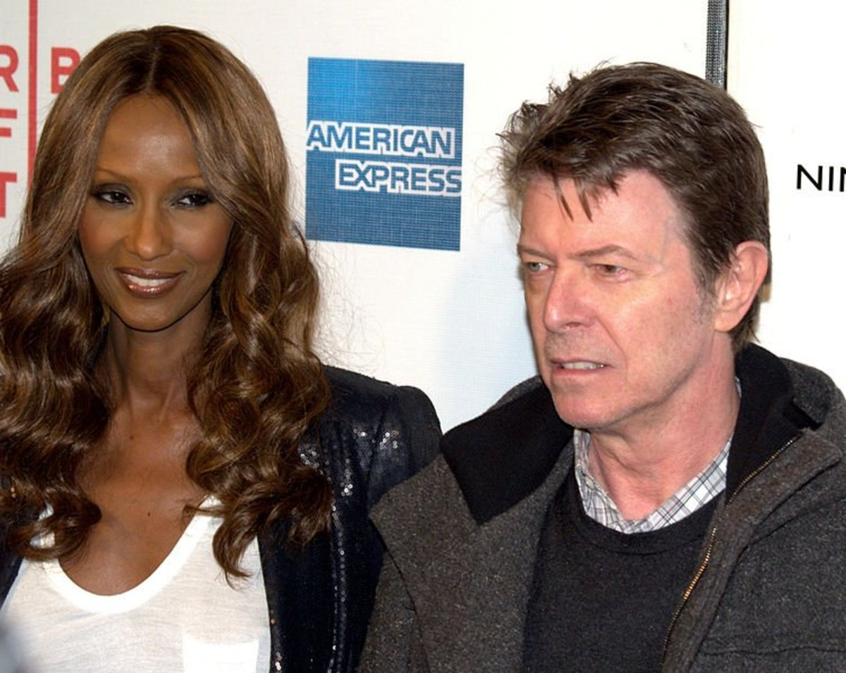 Iman deeply loved her husband David Bowie. How to Date White Men.