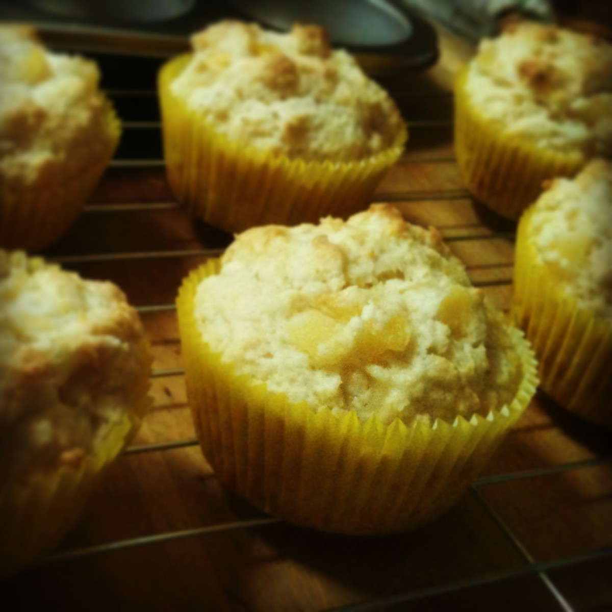 Pina Colada Muffins - Recipe With Pictures