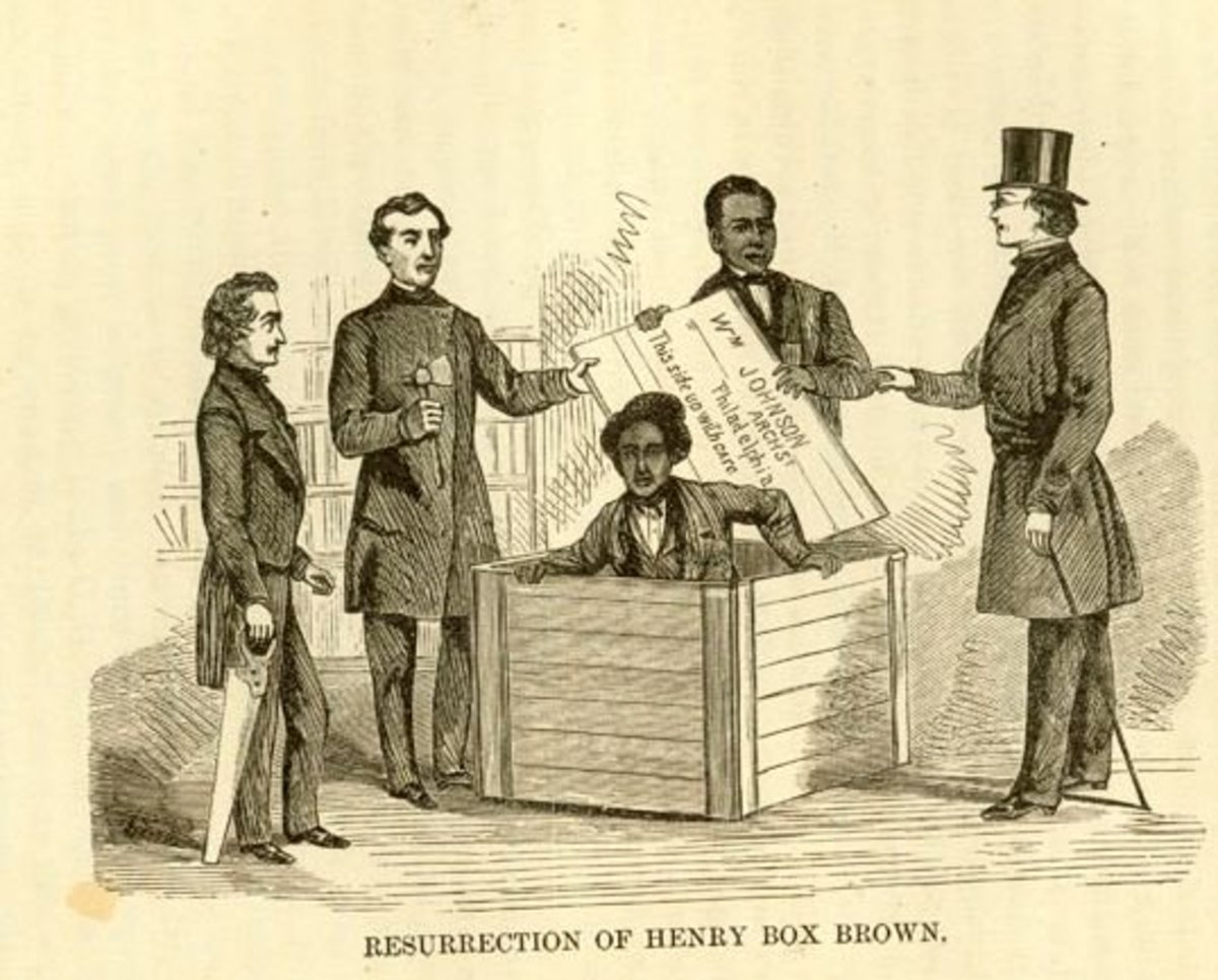 Henry Box Brown – The Slave Who Mailed Himself To Freedom