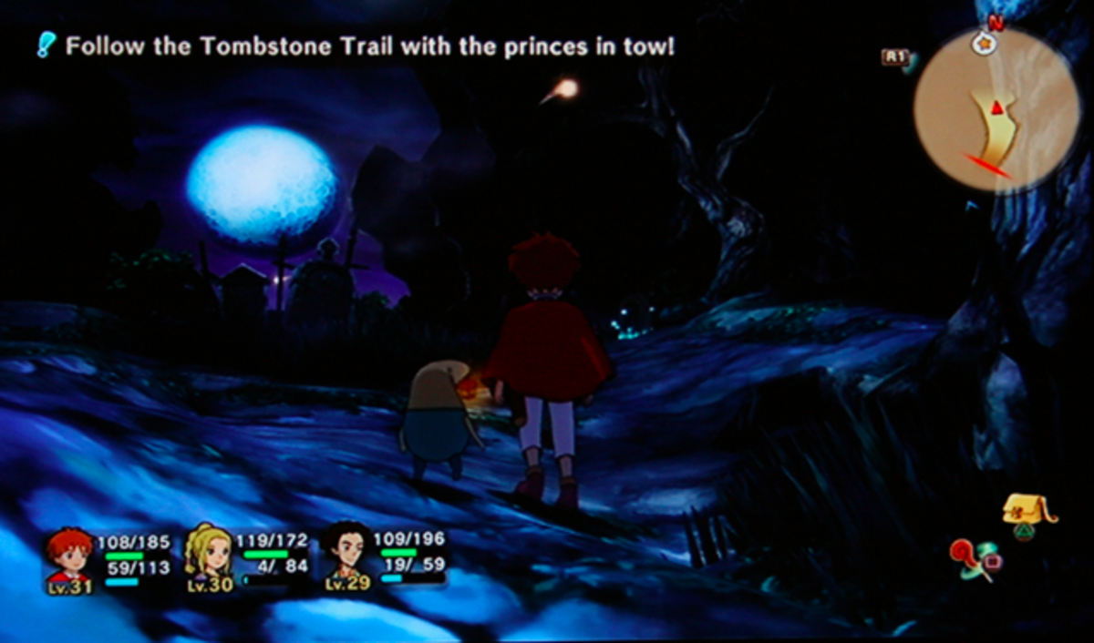 Ni no Kuni walkthrough, Part Thirty: Tombstone Trail