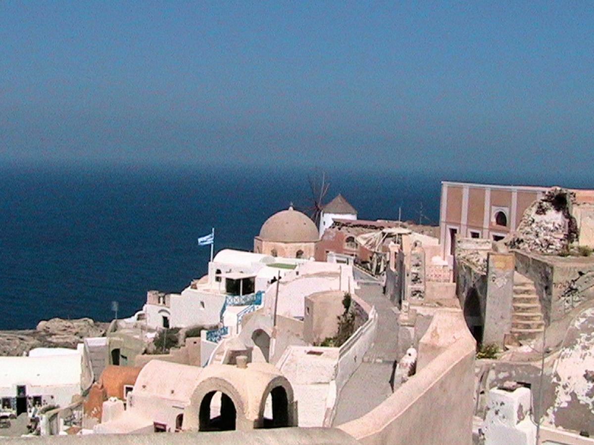 Beautiful Santorini and the Myth of Atlantis