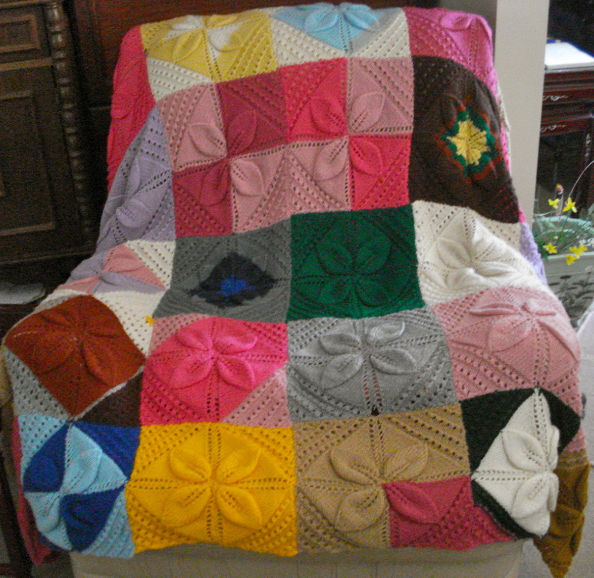 Knitting Project: A Cosy Rug