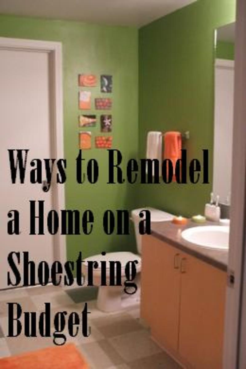 How To Remodel A Home On A Shoestring Budget Dengarden