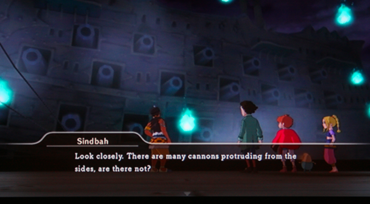 Ni no Kuni walkthrough, Part Forty: The Black Porpoise
