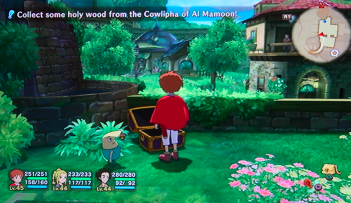 Ni no Kuni walkthrough, Part Forty-Three: Purple Chests