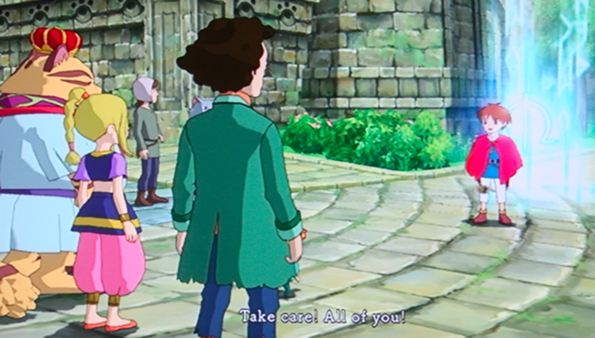 Ni no Kuni walkthrough, Part Forty-Eight: Ding Dong Dell Celebration