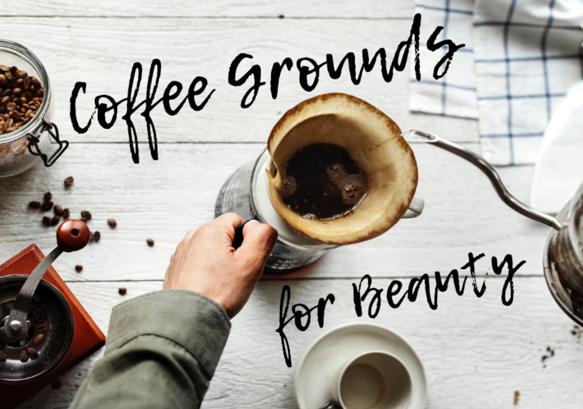 Used coffee grounds contain the same antioxidants and other beneficial compounds that are used in many luxury skincare products.
