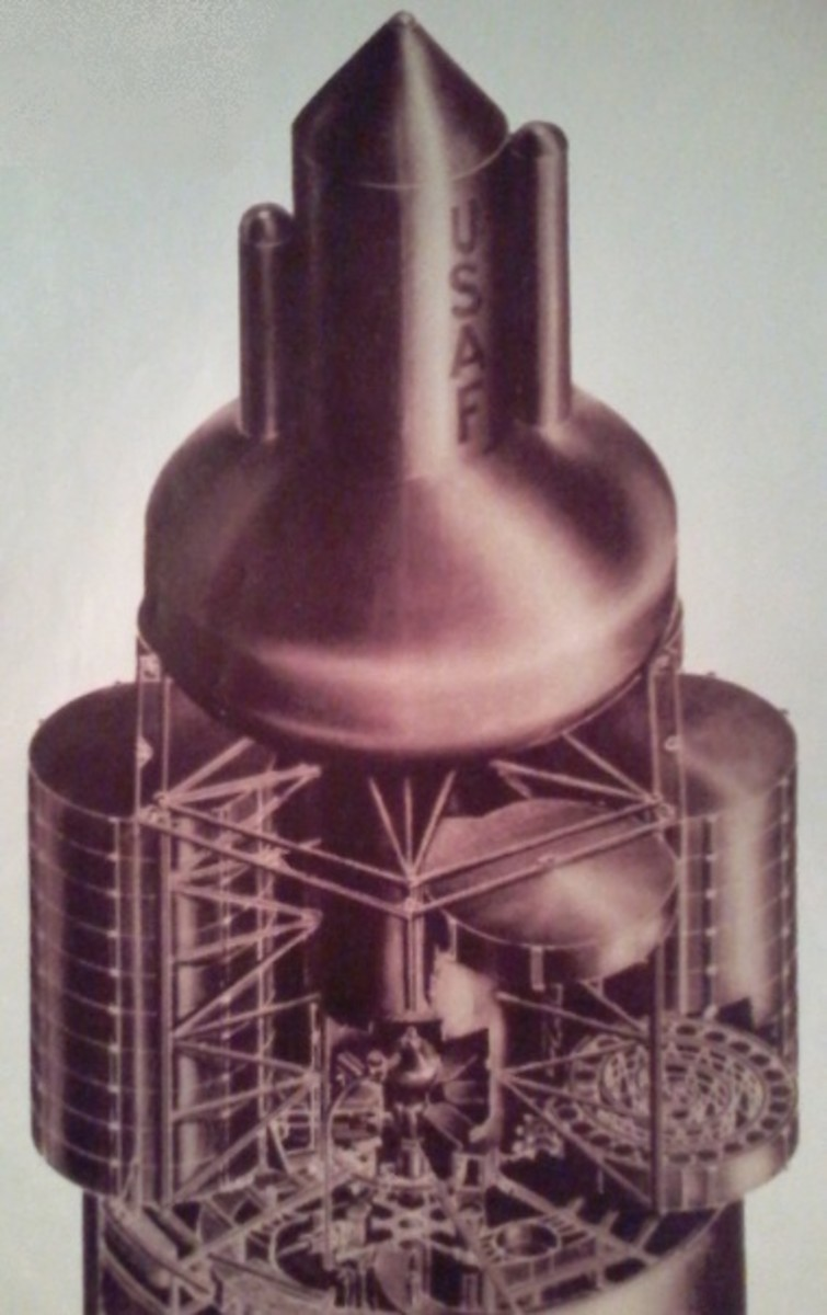 The Original NASA Project Orion Space Program, or Using Nuclear Weapons as Propulsion