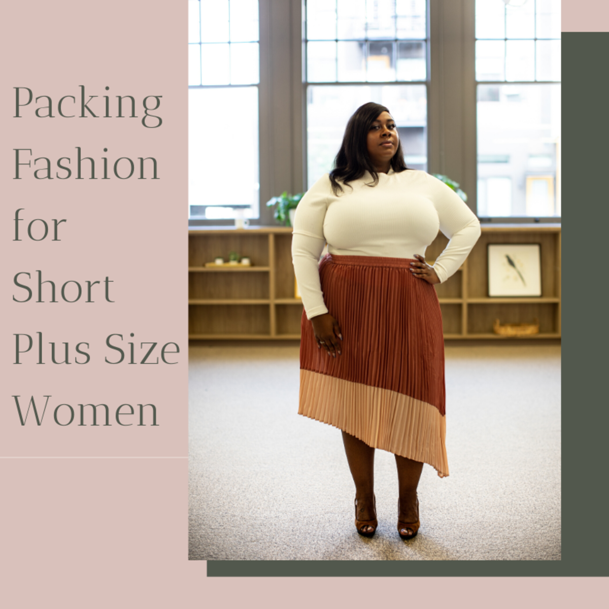Short, Fat and Mobile: Packing Fashion for Plus Size Petite Women Who Travel Light