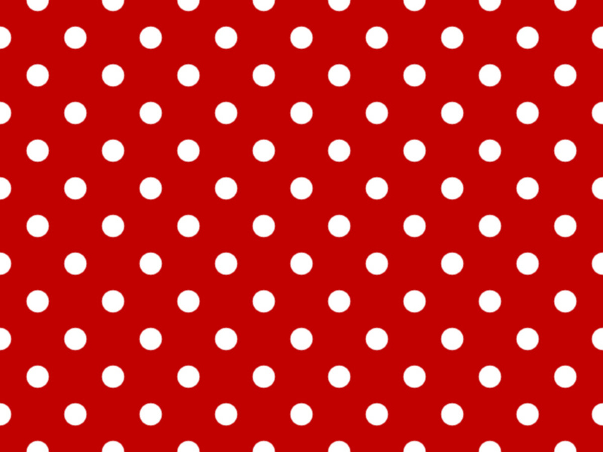 Background with Polka Dot pattern made in GIMP 2.8