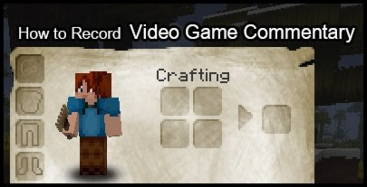 Minecraft is a popular Let's Play! series