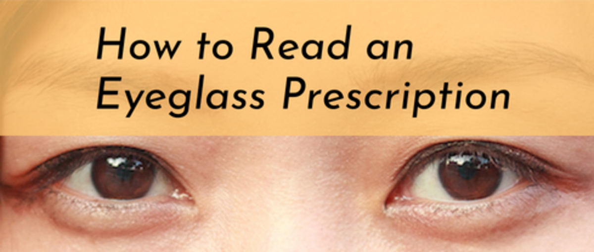 Learn four easy steps for how to read eyeglass prescriptions!
