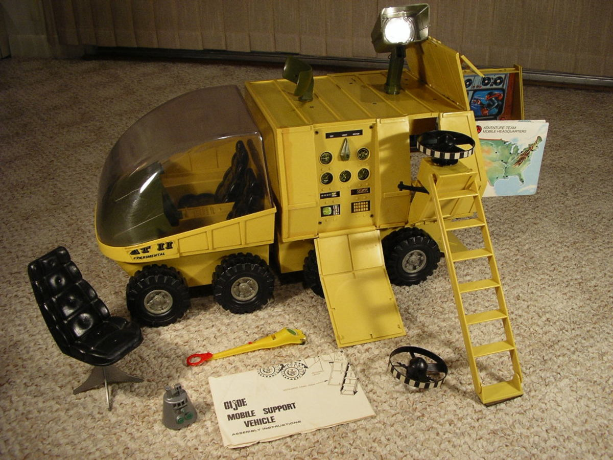 GI Joe Mobile Support Vehicle: Antenna Drive Belt Replacement and Electrical System Repair, Adventure Team, MSV