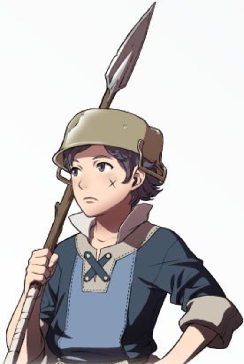 Donnel, a young and flimsy Villager that can eventually grow into one of your army's mainstays.