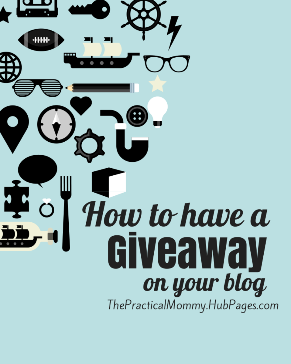 Tips and tricks about how to have a giveaway on your blog.