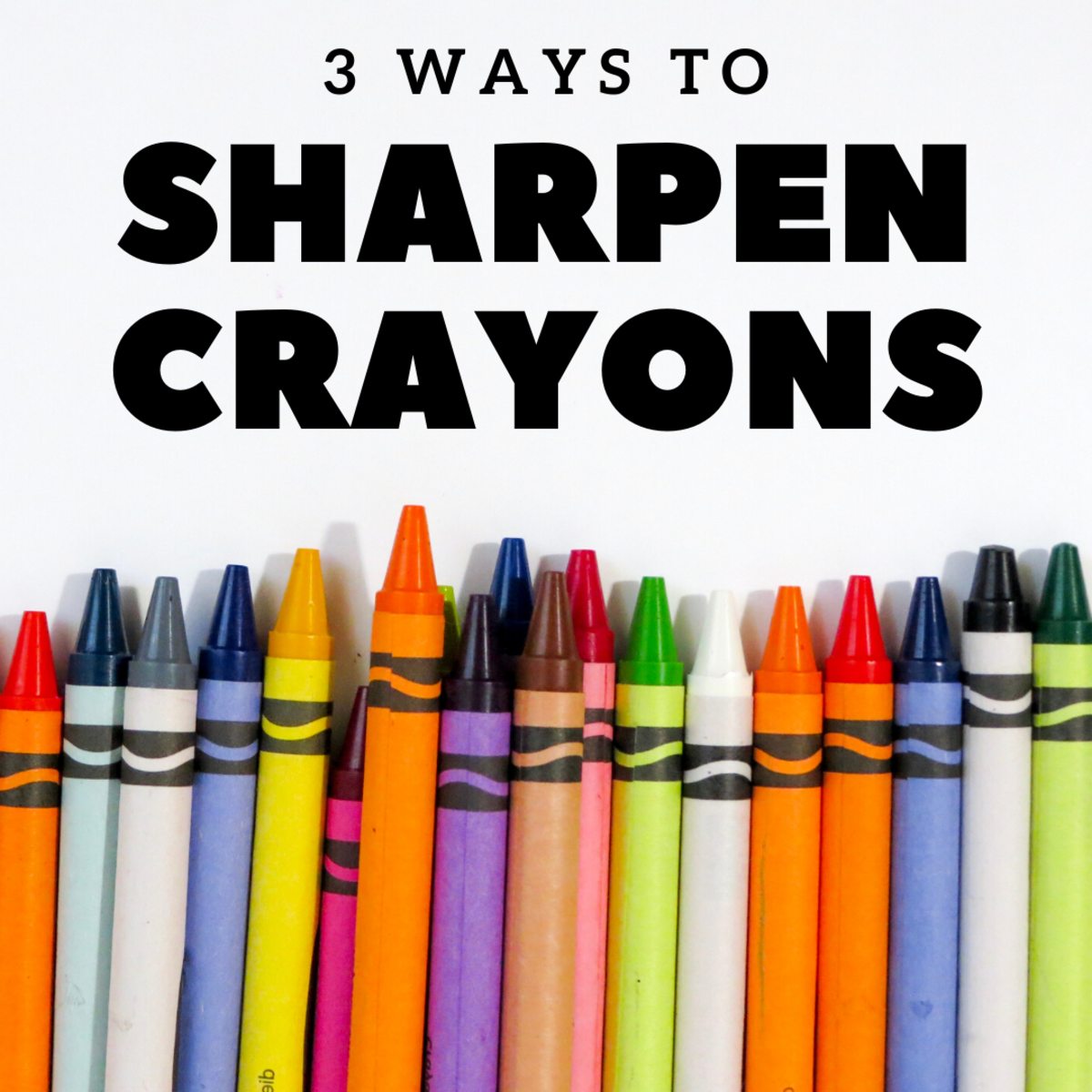 How to Sharpen Crayons