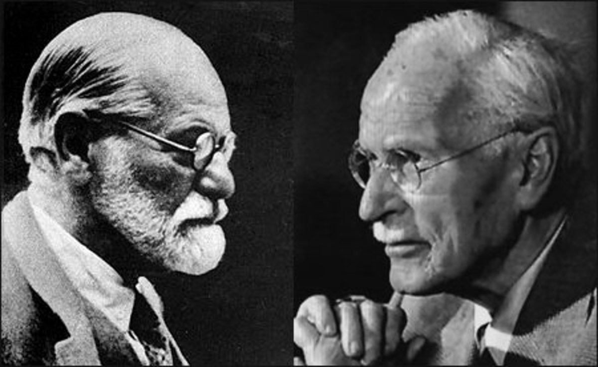 compare and contrast freud and jung
