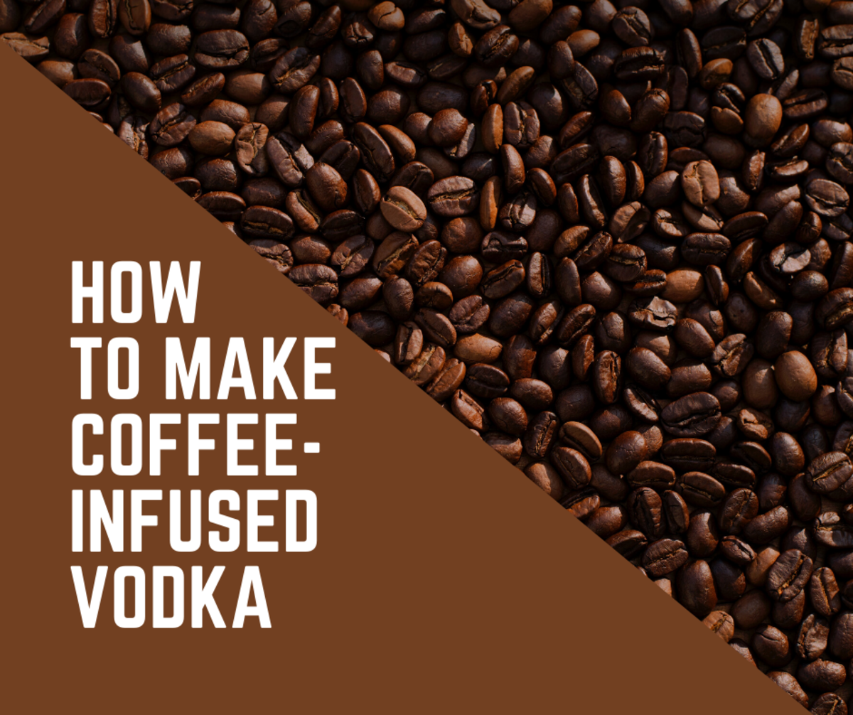 How to Make Coffee-Infused Vodka