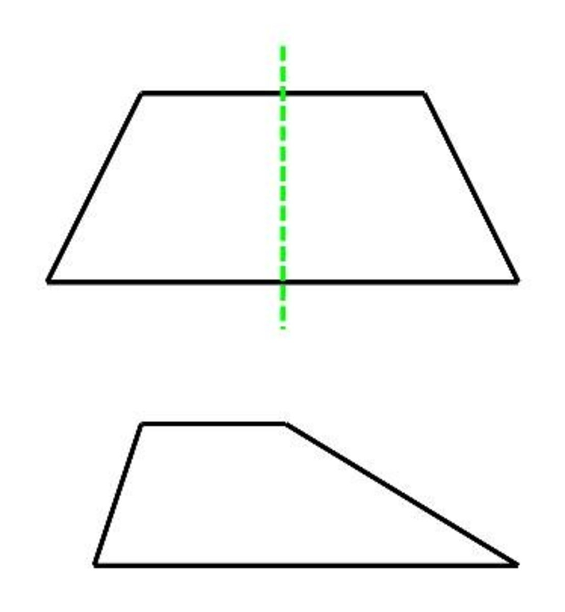 Properties of a trapezium or trapezoid (math facts)