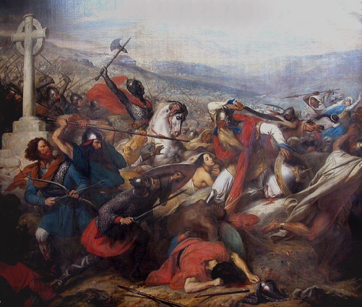 Muslim Leader For Battle Of Tours