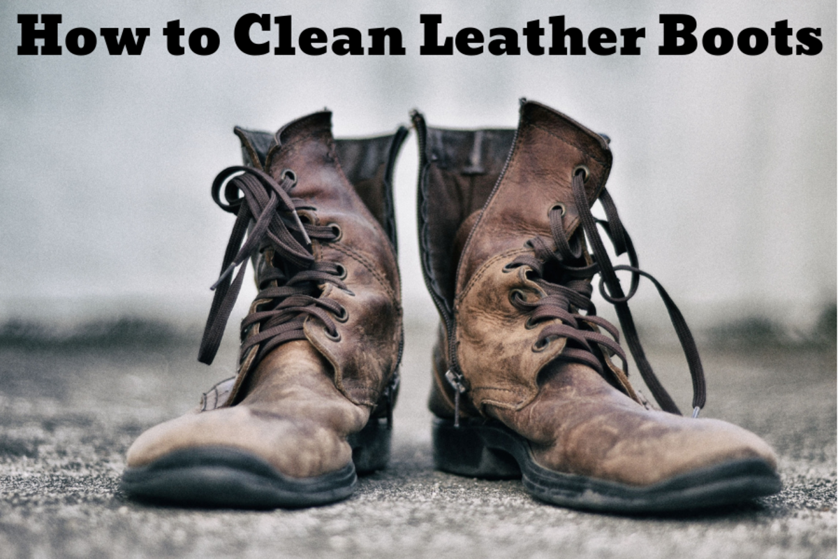 8a39582f282 How to Clean Dirty Leather Boots | Dengarden