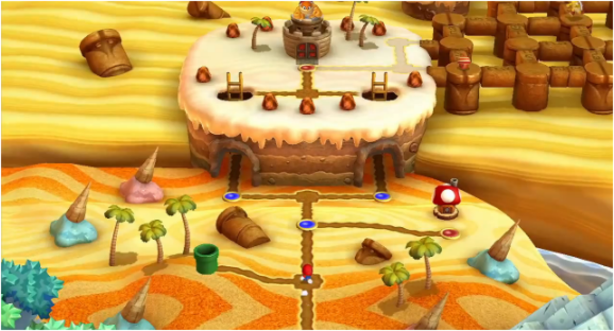 How to Find the Star Coins of Layer-Cake Desert in New Super Mario Bros. U