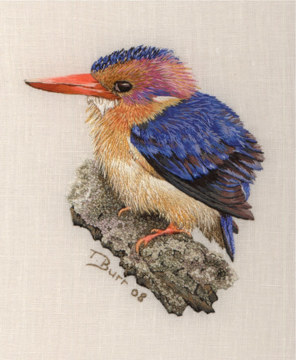 Embroideries of Trish Burr -- True Inspirations