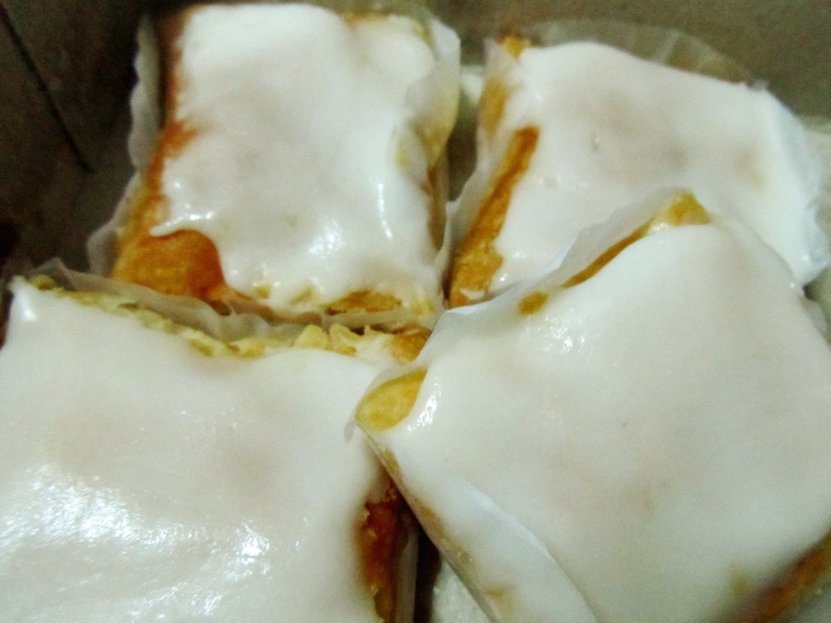 Bacolod's Best Delicacy: Napoleones - Pendy's vs Merci