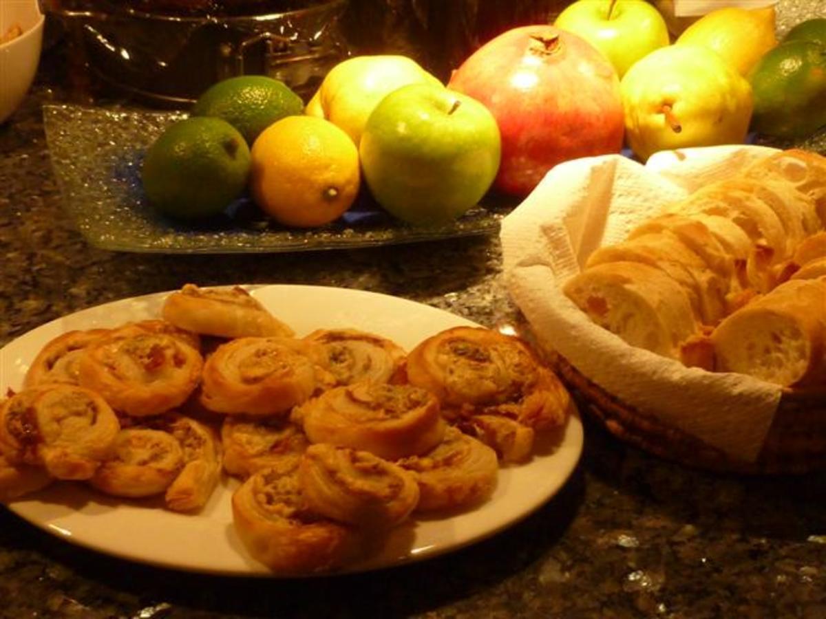 Puff Pastry Pinwheels