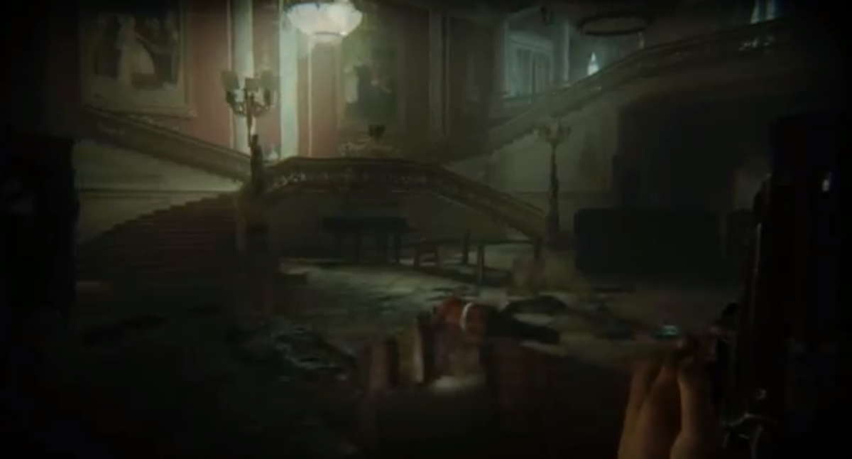 ZombiU walkthrough, Part Nine: Buckingham Palace Interior