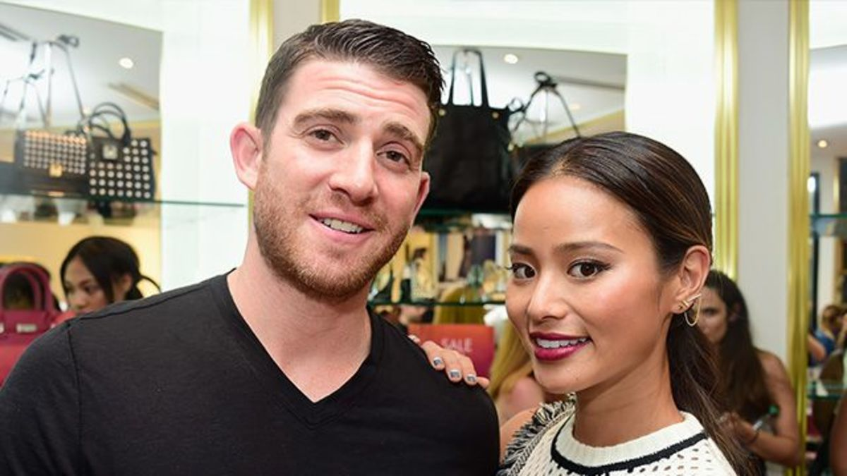 Jasians. Brian Greenberg and Jamie Chung got married in a Jewish wedding.