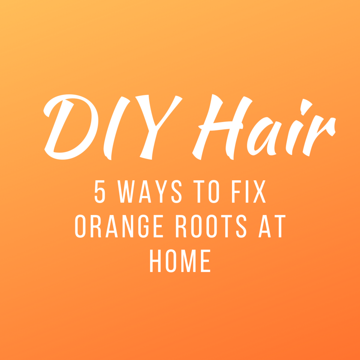 How to Fix Orange Roots at Home From Bleaching Hair Blonde