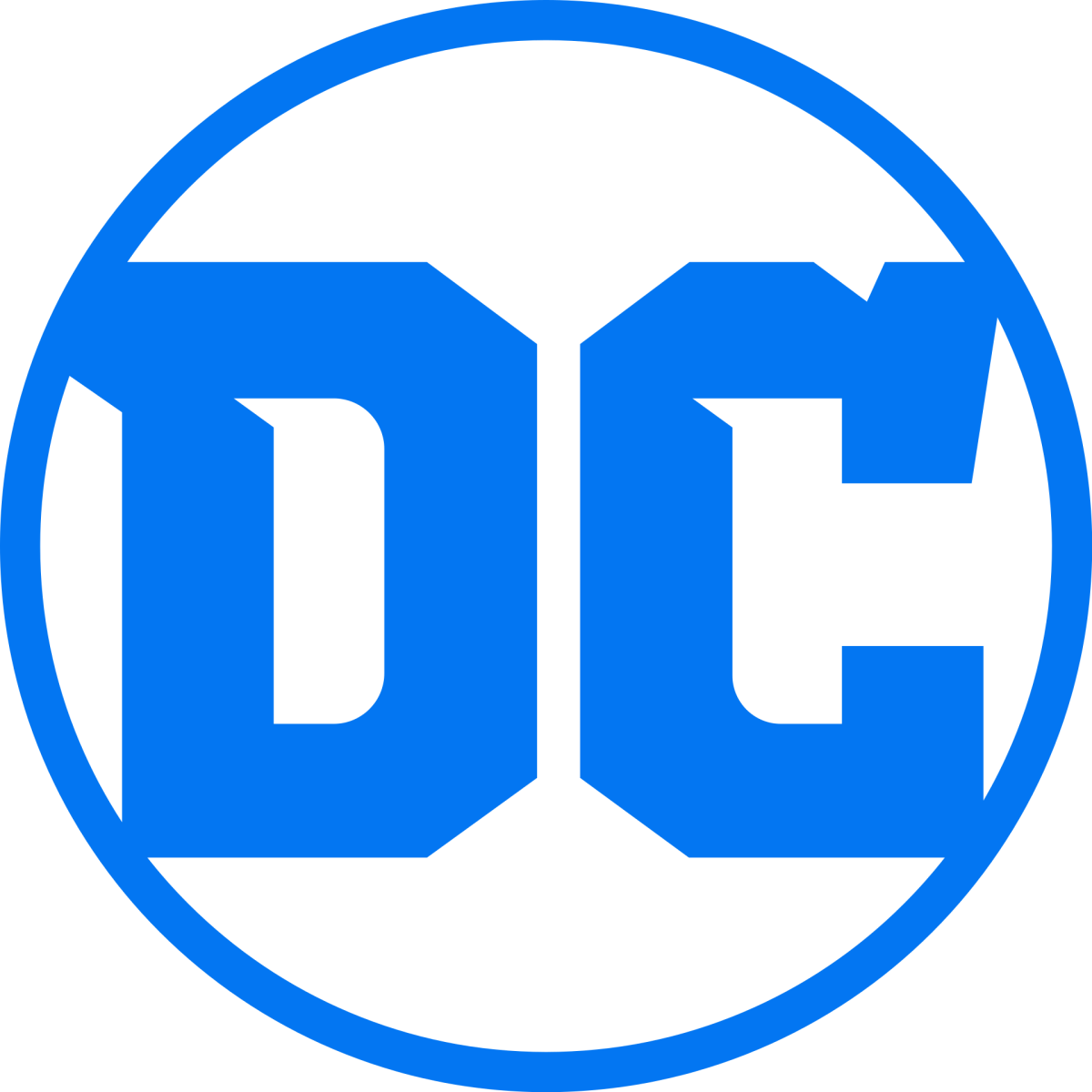 DC Comics logo.