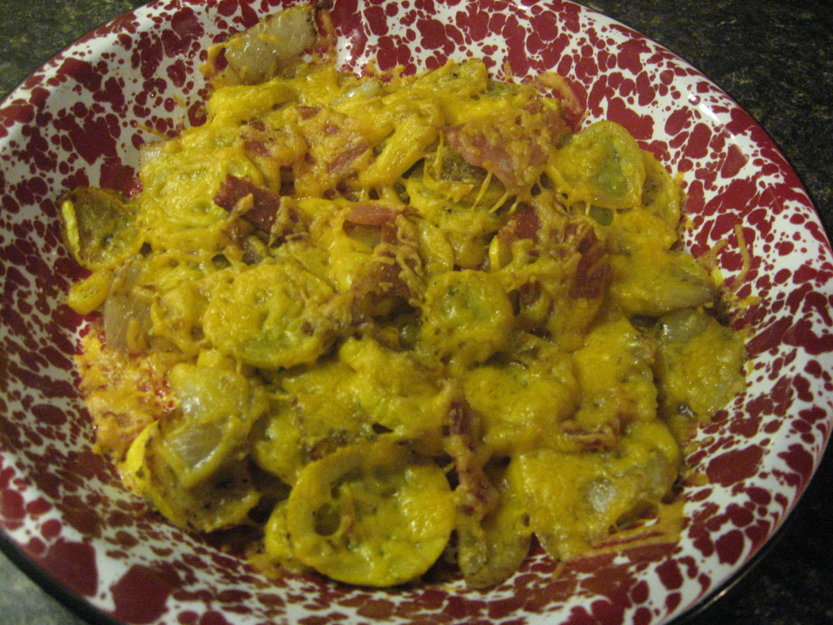 Yellow Squash Recipes for a Low Carb Diet