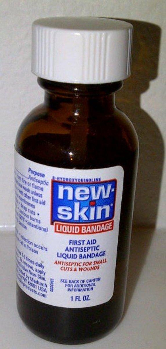 Liquid Bandage bottle