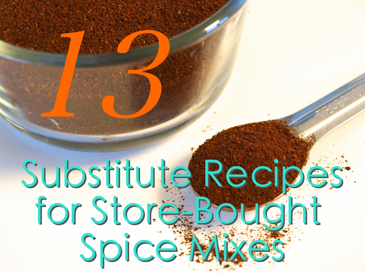 Substitute Recipes for Store-Bought Spice Mixes