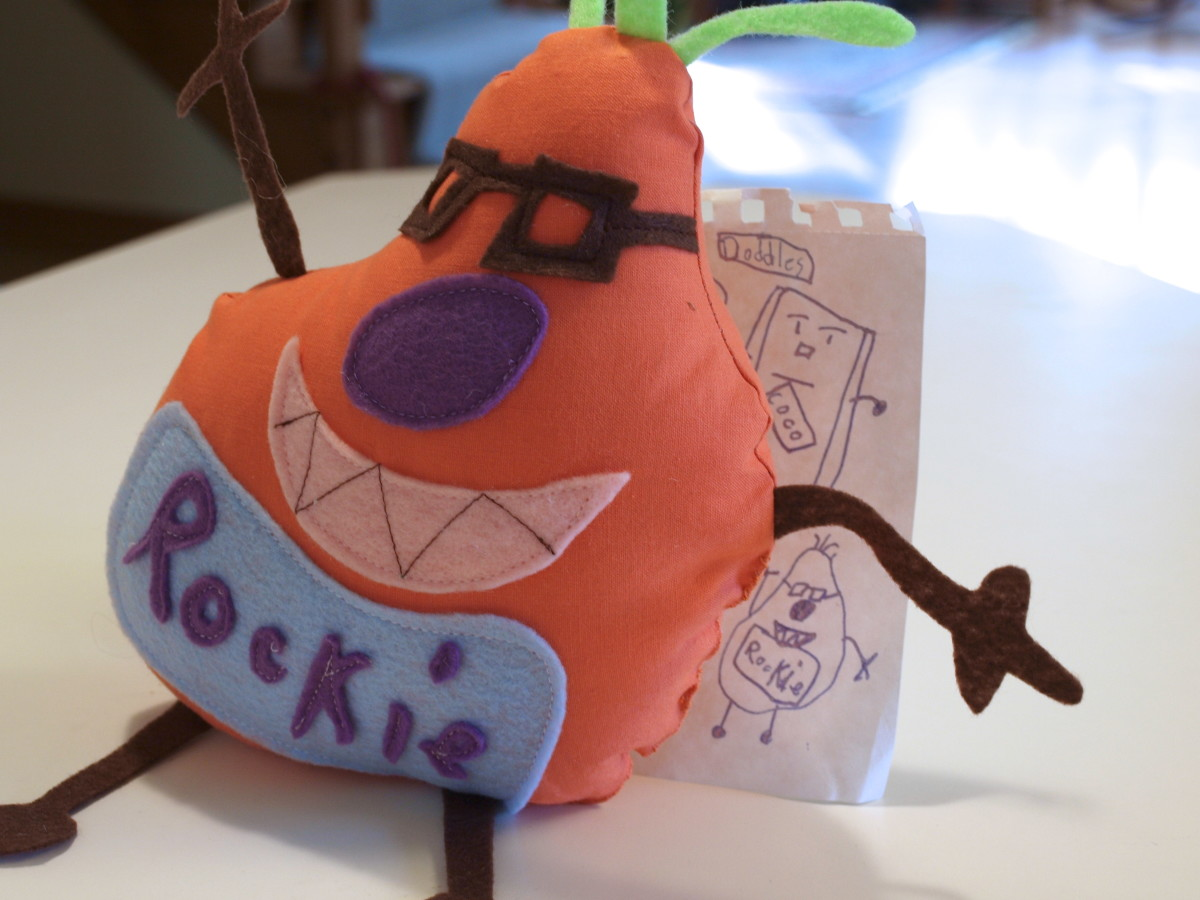 How To Make A Stuffed Toy From Drawing Feltmagnet