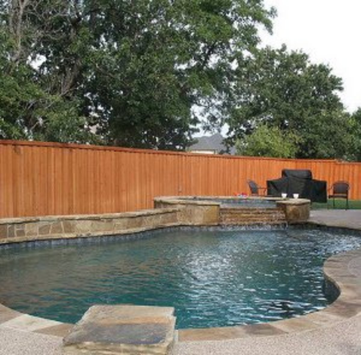 Standard in ground pool shapes and sizes dengarden - Swimming pool size ...