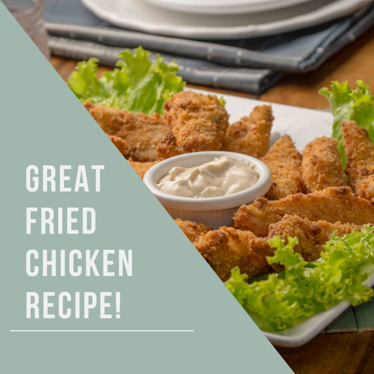 This fried chicken recipe is great for all occasions.