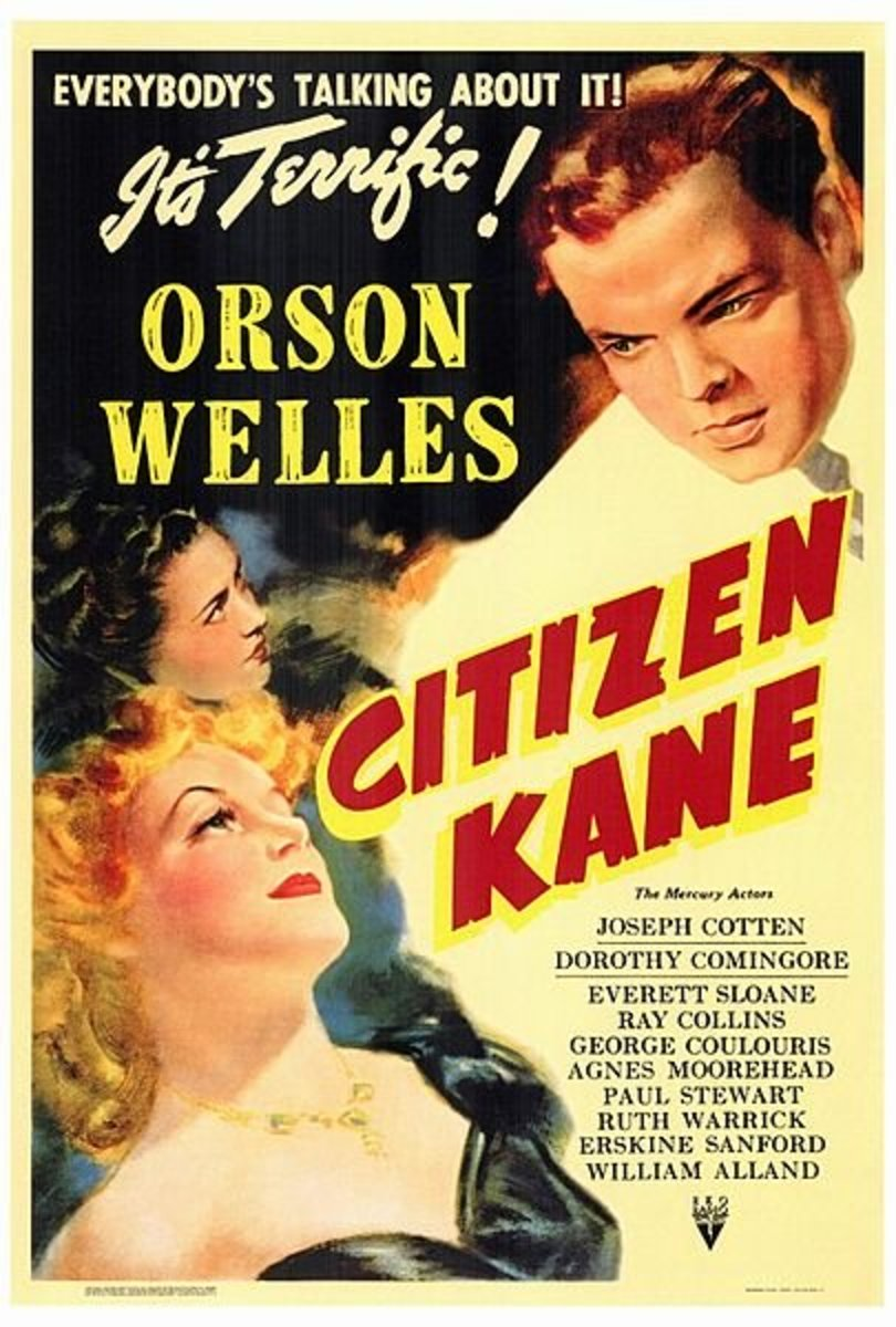 RKO poster for Citizen Kane.