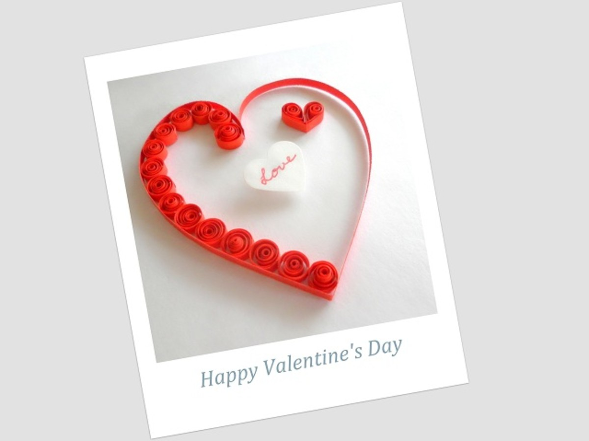 Paper Quilling - Fun Craft Projects and Ideas for Valentine's Day