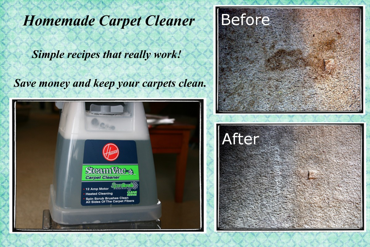 how to make homemade carpet cleaner