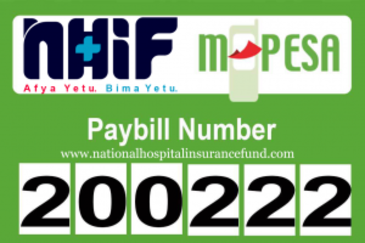 NHIF Payment Through via M-Pesa