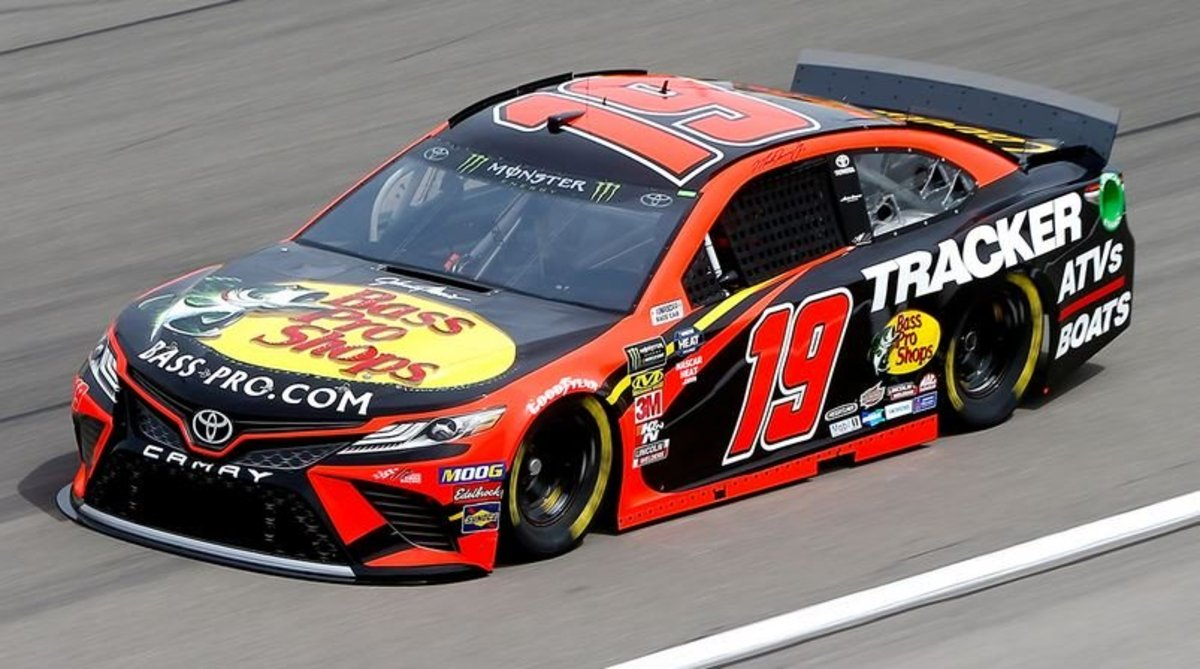 """Martin Truex Jr and the number 19 car.  How about """"You Can't Handle the Truex"""" for a team name."""