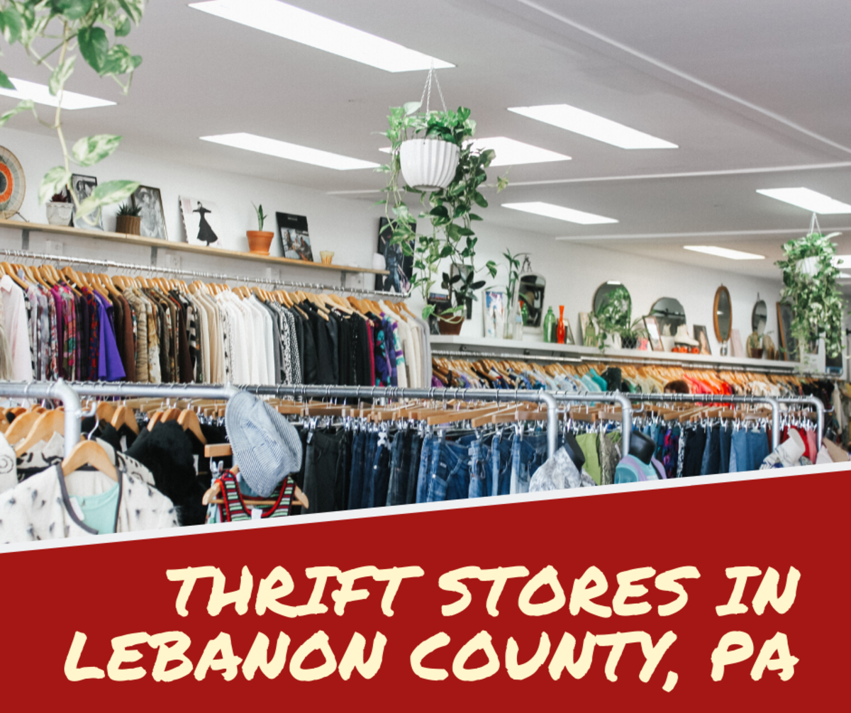 8 Thrift Stores in Lebanon County, PA