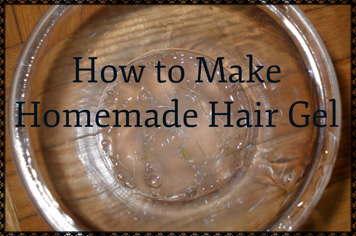 How to Make Your Own Hair Gel