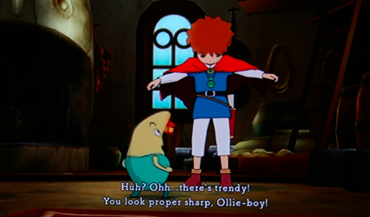 Ni no Kuni walkthrough, Part Five: King Tom