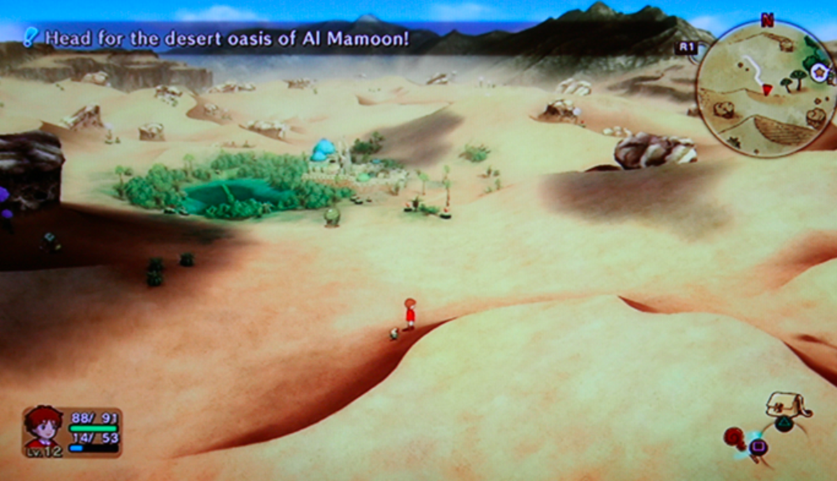 Ni no Kuni walkthrough, Part Ten: Al Mamoon