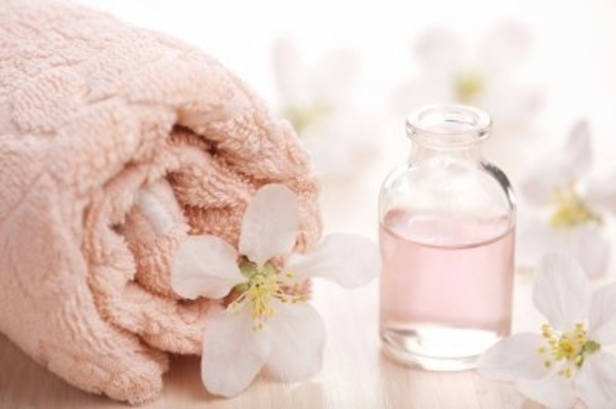 Rosewater and Lemon Face Wash.