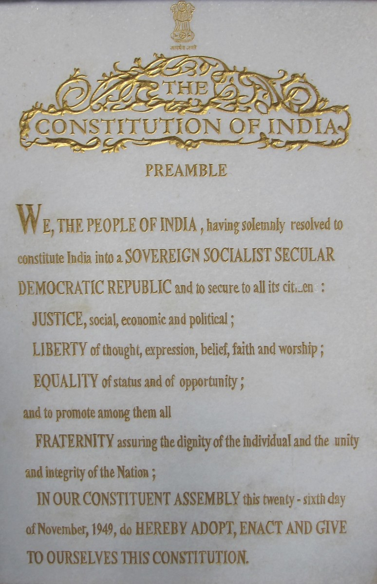 The Constitution of India (Poem)